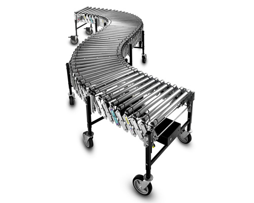 Powered Flexible Conveyors Expandable Power Roller