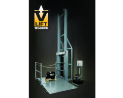 Wildeck Hydraulic VRC Material Lift