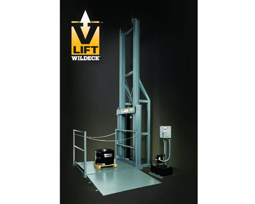 Hydraulic Material Lift : Wildeck hydraulic vrc material lift conveyers drives