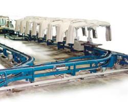 Jervis B. Webb Inverted Power & Free Unibilt® Enclosed Track