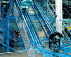 Jervis B. Webb Inverted Power & Free Conveyor