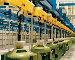 Jervis B. Webb Unibilt® Enclosed Track Conveyor