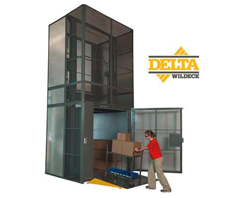 Wildeck Delta VRC Material Lift