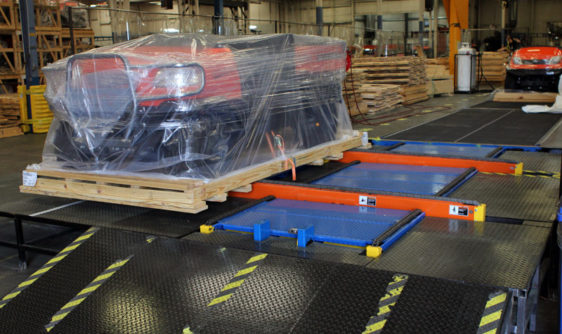 Kubota Manufacturing of America partnered with Conveyors & Drives, Inc