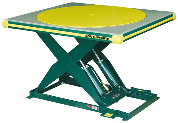 Southworth Backsaver LS Series Hydraulic Scissors Lift Tables Are Excellent  For Applications Requiring Work Positioning, Product Assembly, Sheet  Feeding, ...
