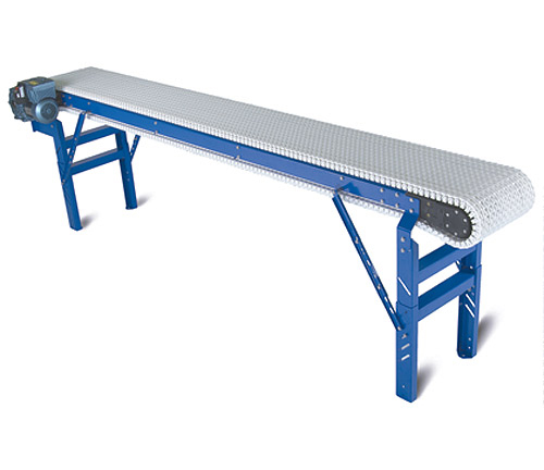 Spantech Whispertrax Plastic Chain Belt Conveyor