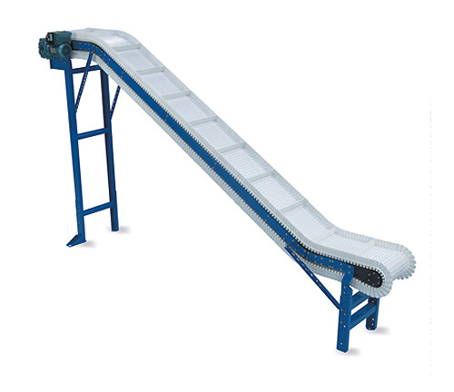 SpanTech VO-PMS Cleated Plastic Chain Incline Conveyor