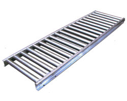 1 3-4 inch stainless gravity roller