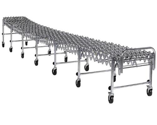 Nestaflex 226 Expandable/Extendable Gravity Skatewheel Conveyor