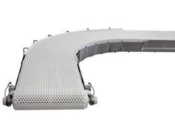 Dorner 7400 series plastic chain curve 2