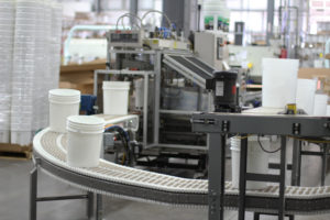 SpanTech Helical Curve conveyor