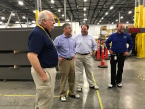 Dan Helms and Eric Ragan in Warehouse