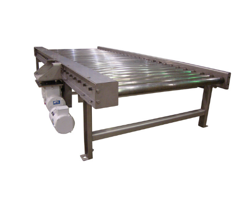 Stainless Steel Chain Driven Live Roller Conveyor