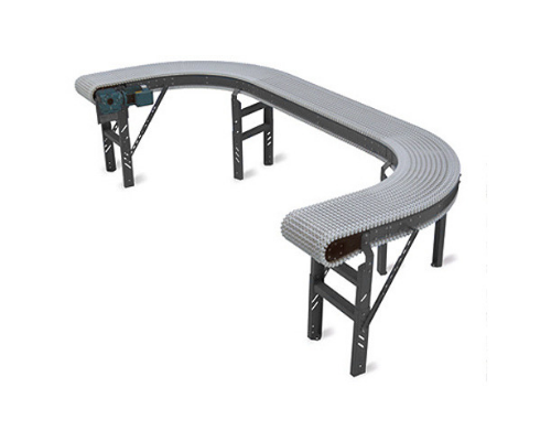 Stainless Steel Plastic Chain Belt Conveyor