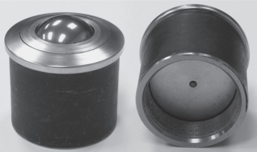 Pipe Mount ball transfer unit